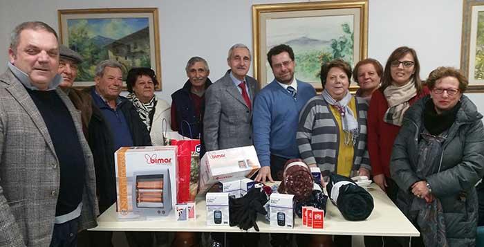Donazione al Centro Anziani di Trappitello